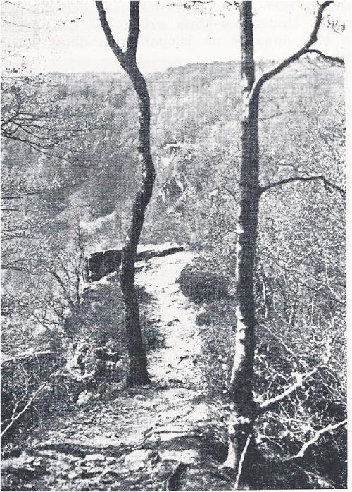 Hjortsprånget omkring 1930