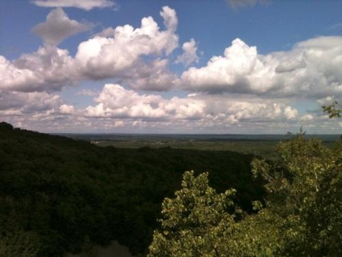 Utsikt från Hjortsprånget i dag