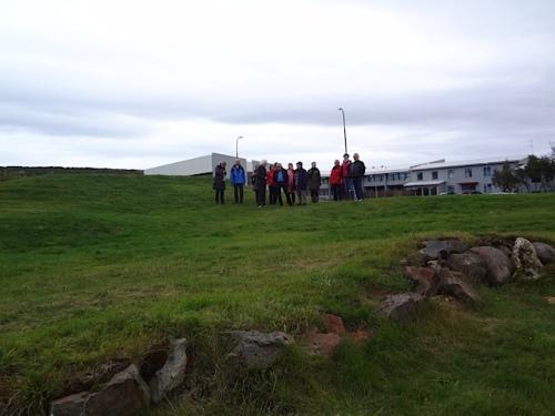 Lämningarna efter Snorres gård
