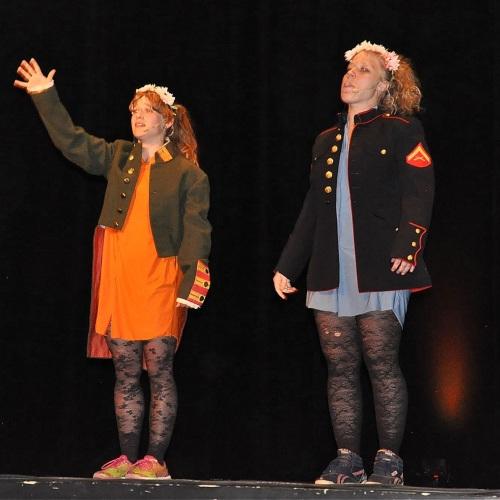 ksjsa Bohlin och Olivia Bergdahl